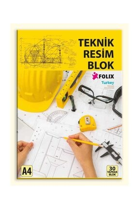 Etika Teknik Resim Blok A4 30 Yaprak 0
