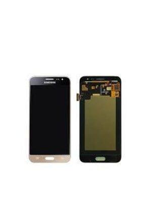 Samsung Kdr Galaxy J3 2016 ( Sm-j320f ) Demirli Copy Lcd Dokunmatik Ekran Gold 0