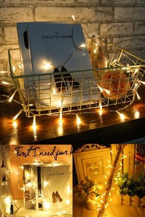 Buffer 100 Ledli Usb Bağlantılı Dekor Lambası Şerit Led Işık 10 Metre Gün Işığı 0