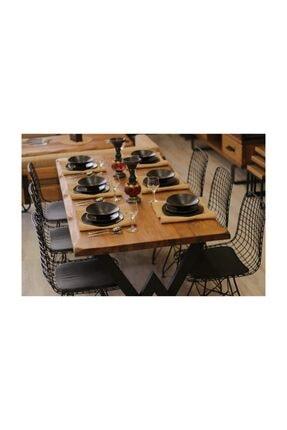 NT Concept Masif Ağaç Yemek Masası - 85cm-150cm Masa 3