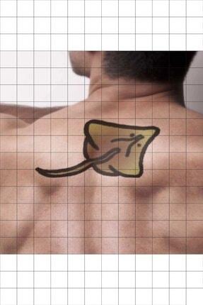 TatFast Deniz Yaratığı 322 Geçici Dövme Flash Tattoo 1