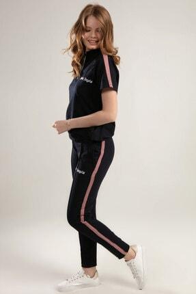 Y-London Kadın Lacivert Kısa Kollu Eşofman Takımı Y20S151-1200 1