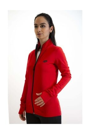 Lotto Sweatshirt Kadın Kırmızı-davide Sweat Fz Pl-r9577 1