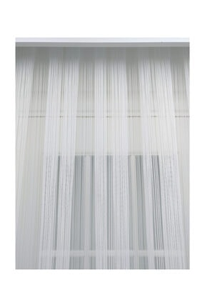 Esse Home Düz Çizgili Örme Tül Perde, Normal Pile, 1/2.5 500x260 cm 2