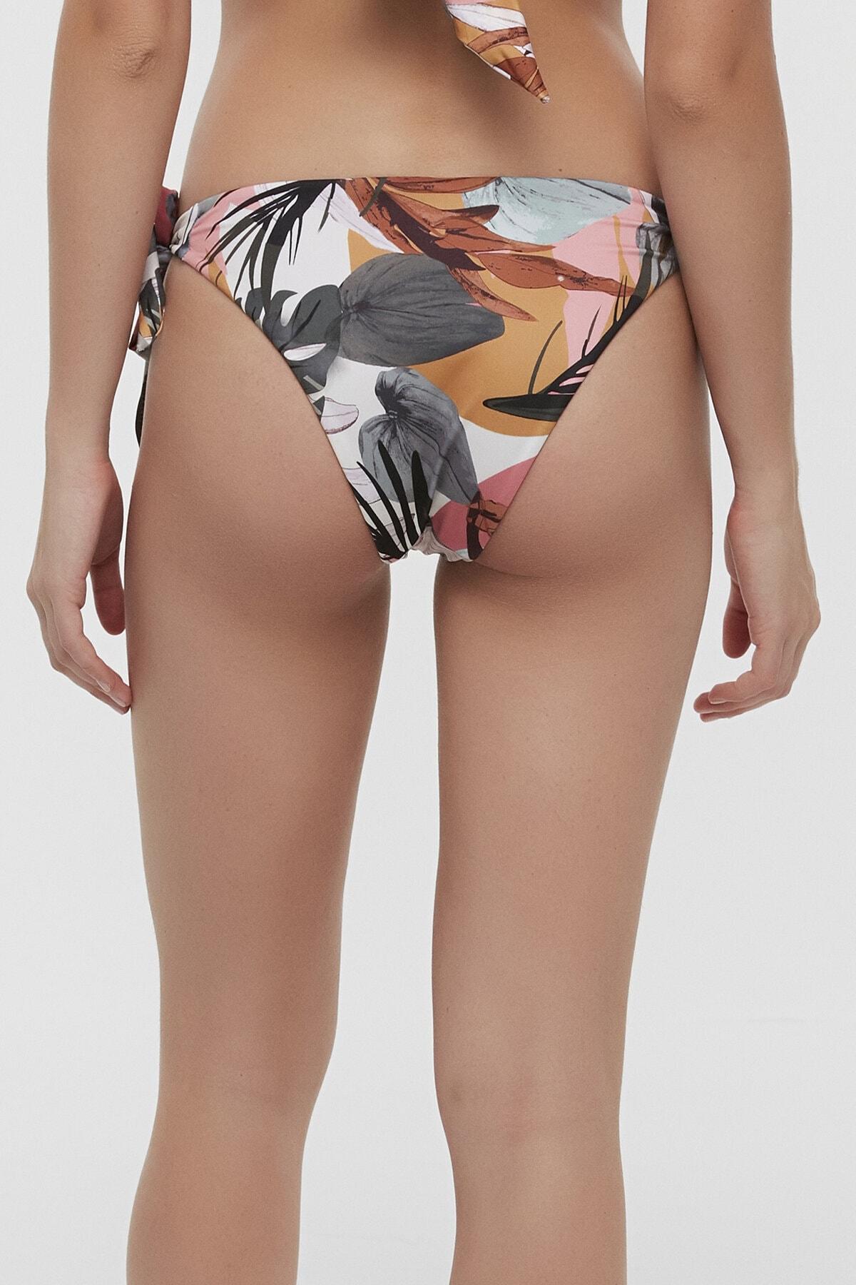 Penti Kadın Çok Renkli Tropic Brazilian Bikini Altı 1