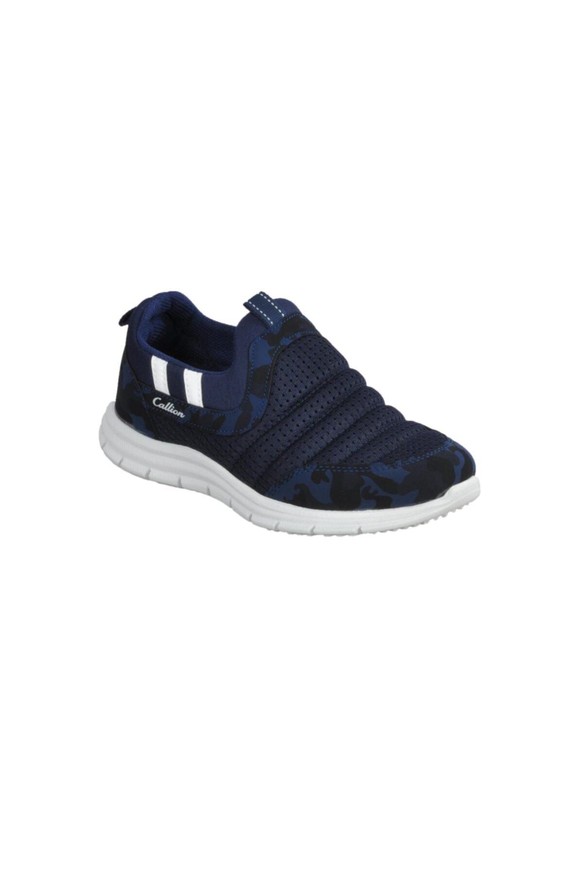 1006 Lacivert-kamuflaj Çocuk Ayakkabı