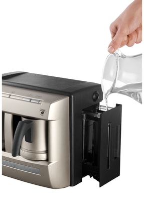 Grundig TCM 6730 Cream Gold Çiftli Otomatik Türk Kahve Makinesi 3