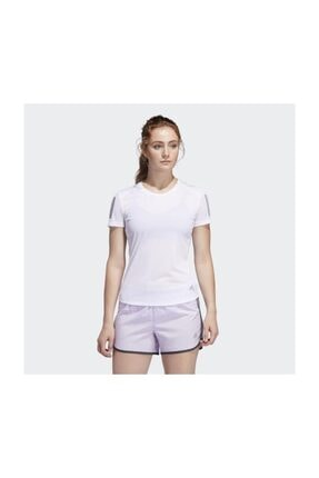 adidas Kadın Beyaz T-shirt Fm5812 Own The Run Tee 0