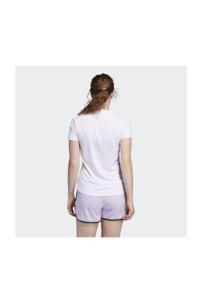 adidas Kadın Beyaz T-shirt Fm5812 Own The Run Tee 3