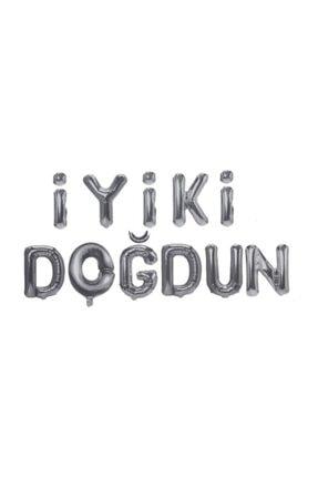 Happyland Iyiki Doğdun Folyo Balon Altın / Gümüş 0