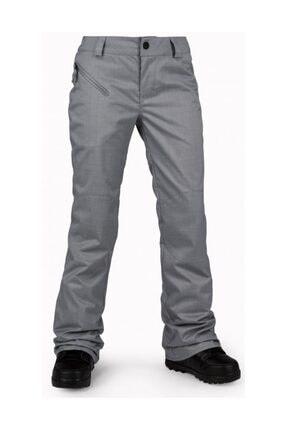 Volcom Pinto Grey Kadın Snowboard Pantolon 0