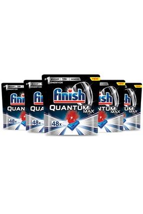 Finish Quantum Max 240 Kapsül Bulaşık Makinesi Deterjanı (48x5) 1