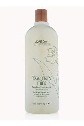 Aveda Rosemary Mint Hand And Body Wash El Ve Vücut Duş Jeli 1 Litre 0