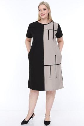 Lir Büyük Beden Elbise
