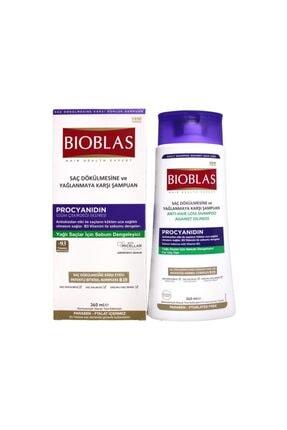 Bioblas Saç Dökülmesine Ve Yağlanmaya Karşı Şampuan 360ml 0