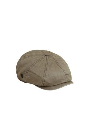 CosmoOutlet David Beckham Model Peaky Blinders Yazlık Kasket Şapka [açık Kahve] 1