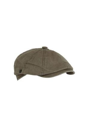 CosmoOutlet David Beckham Model Peaky Blinders Yazlık Kasket Şapka [açık Kahve] 2