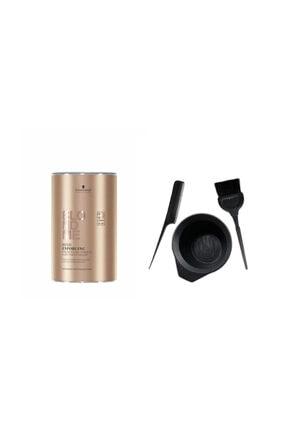 BLONDME Blondme Premium Lift+9 Açıcı 450 G + Saç Boyama Seti 0