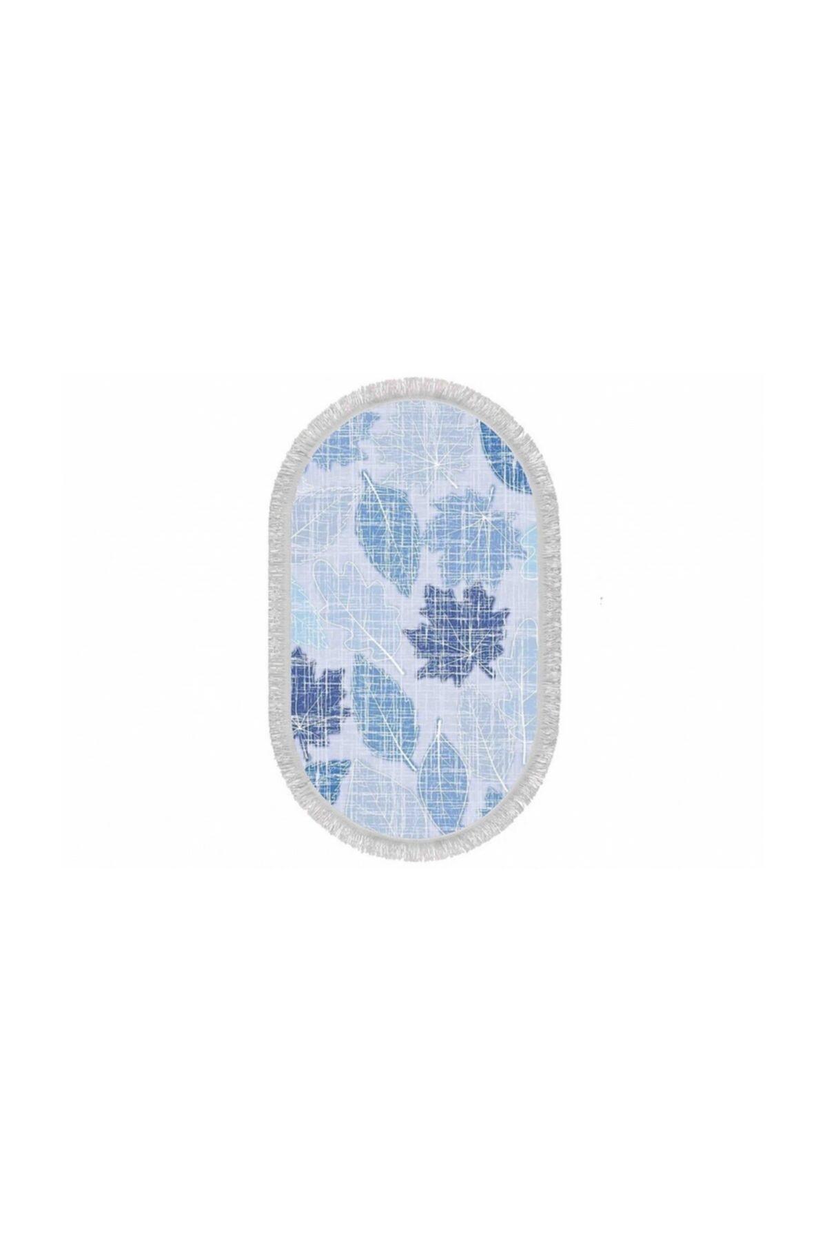 Home Textile Sempati Çınar Yaprağı Ince Saçaklı Paspas 50x80