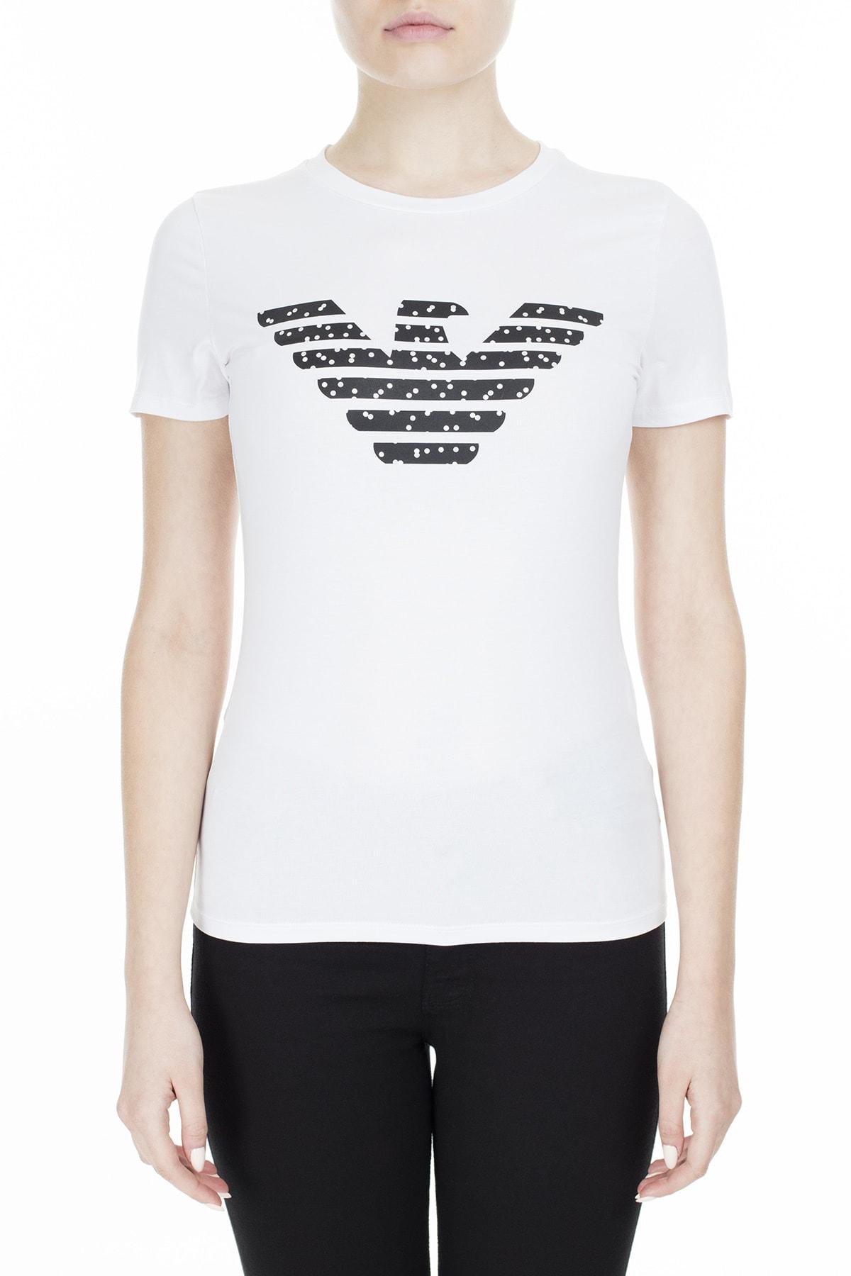 Emporio Armani T Shirt Kadın T Shirt S 6G2T7N 2J07Z 0100 S 6G2T7N 2J07Z 0100 0