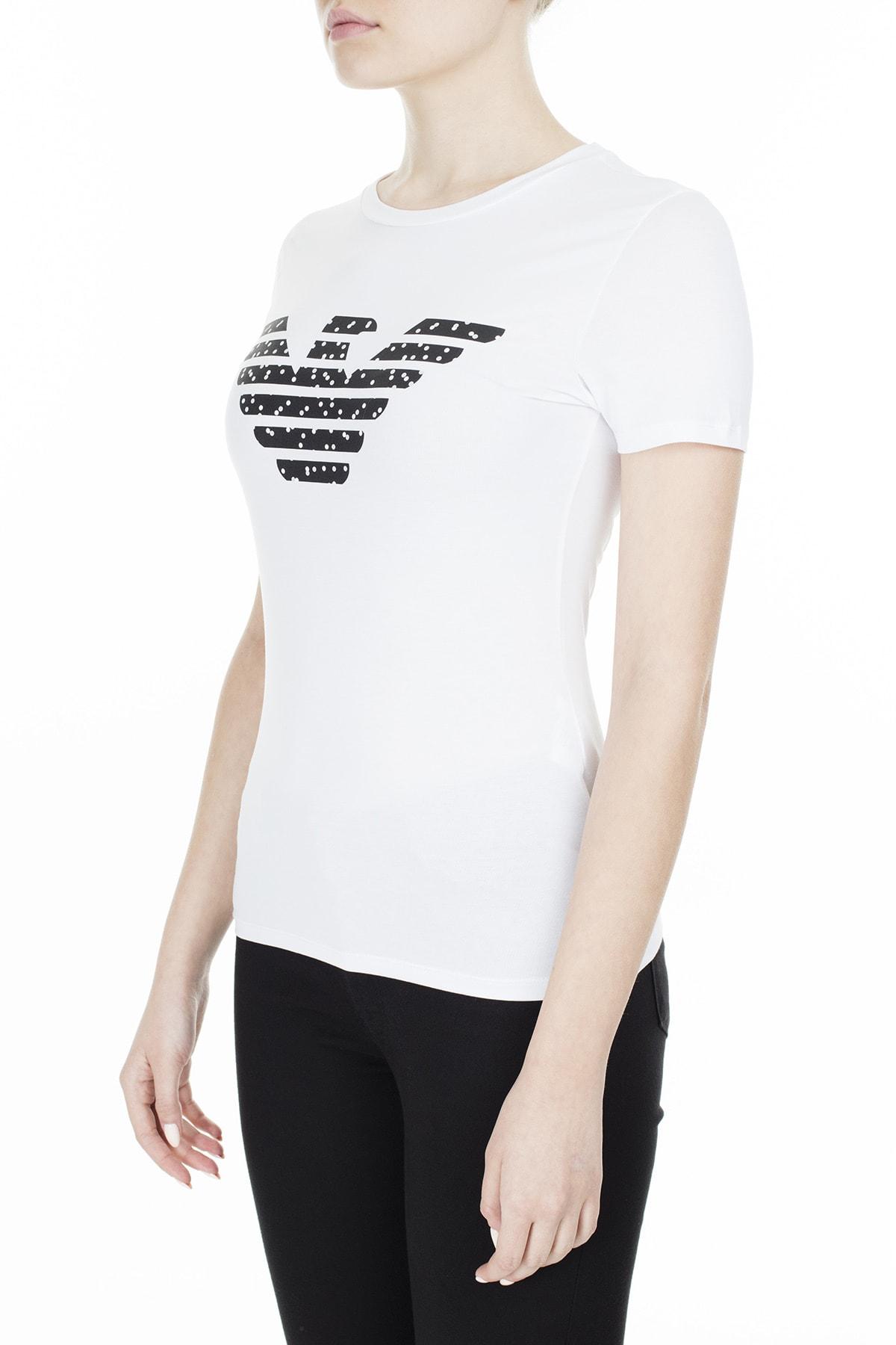 Emporio Armani T Shirt Kadın T Shirt S 6G2T7N 2J07Z 0100 S 6G2T7N 2J07Z 0100 2
