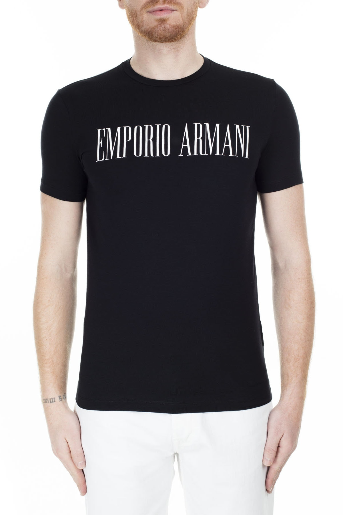 Emporio Armani Regular Fit T Shirt Erkek T Shirt S 6G1Td5 1J0Az 0002 S 6G1TD5 1J0AZ 0002 0