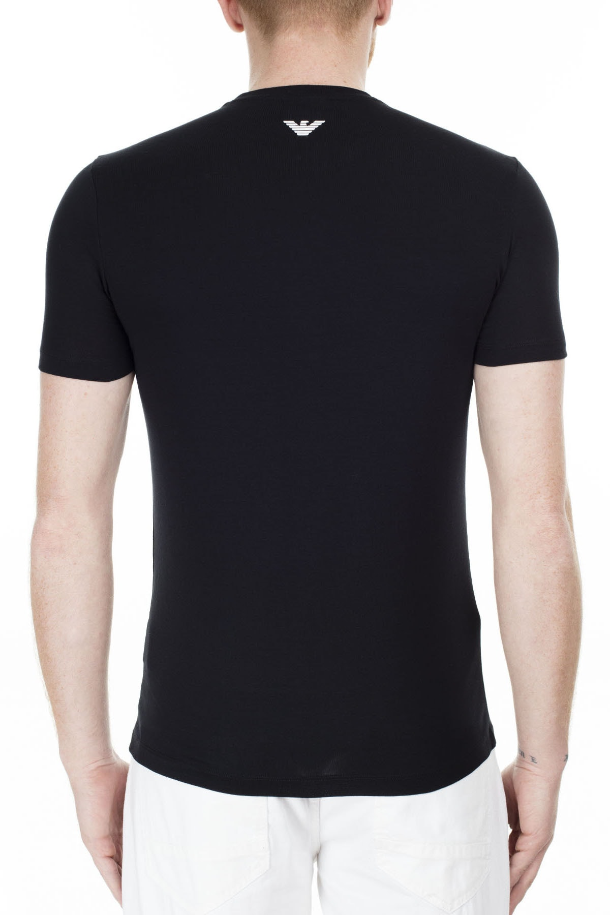 Emporio Armani Regular Fit T Shirt Erkek T Shirt S 6G1Td5 1J0Az 0002 S 6G1TD5 1J0AZ 0002 1