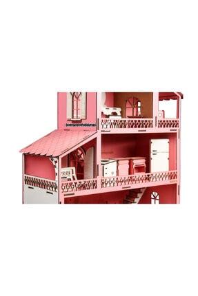 Düven Hobi Evi Barbie Oyun Evi Ahşap 1