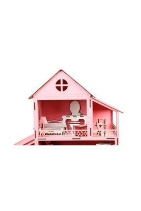 Düven Hobi Evi Barbie Oyun Evi Ahşap 2