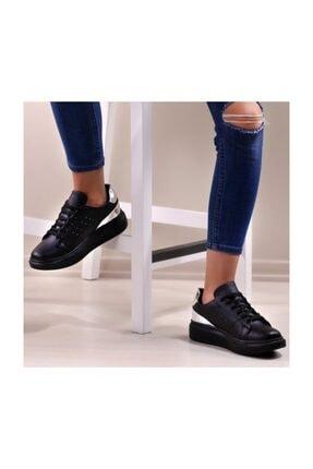 WoW Ayakkabı Siyah Gümüş Spor Ayakkabı 1