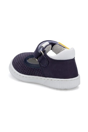 Polaris Hakiki Deri 512529.I Lacivert IE Sneaker 1
