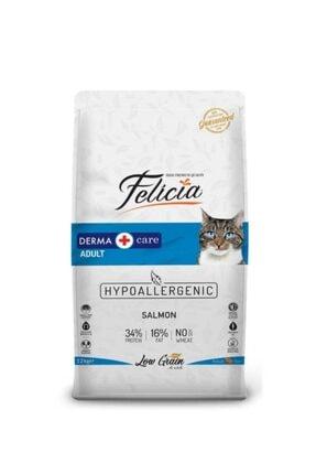 Felicia Az Tahıllı Somonlu Yetişkin Kedi Maması 12kg 0