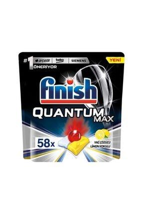 Finish Bulaşık Makinesi Deterjanı Quantum Max Limonlu 58 Tablet 0