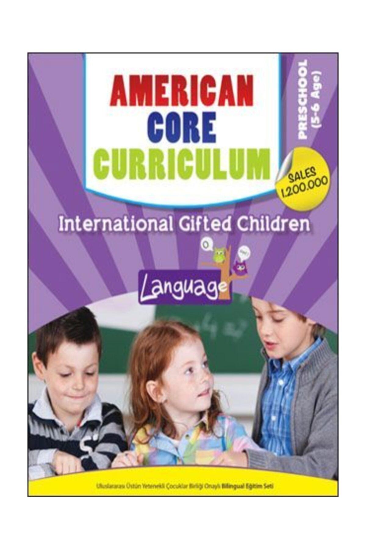 5-6 Yaş Ingilizce Presschool American Core Curriculum