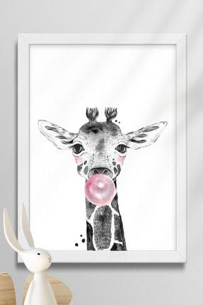 Norm Design Bebek & Çocuk Odası Çerçeveli Poster Tablo Seti 3
