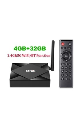 Wechip Tanix Tx6s 4g/32g Android 10.0 Dual Wifi Bluetooh Android Tv Box 1