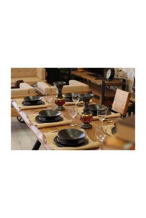 NT Concept Ntconcept Masif Ağaç Yemek Masası - 85cm-200cm Masa 2