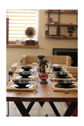 NT Concept Ntconcept Masif Ağaç Yemek Masası - 85cm-200cm Masa 3