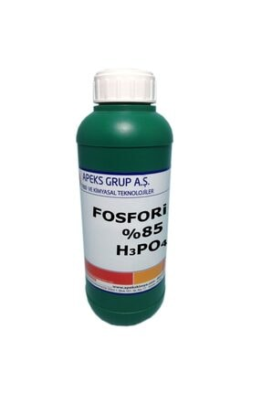 APEKS Fosforik Asit - %85 - H3po4 - 1 Kg 0