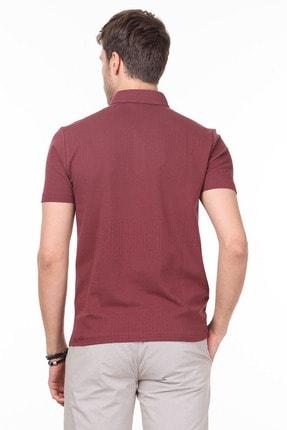 Ramsey Erkek Gül Kurusu Jakarlı Örme T - Shirt RP10119895 3