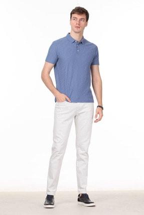 Ramsey Erkek Koyu Mavi Jakarlı Örme T - Shirt RP10119896 2
