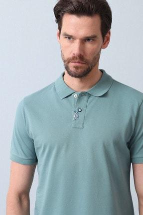 Ramsey Erkek Açık Yeşil Örme T - Shirt RP10119916 3