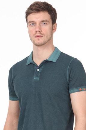 Ramsey Erkek Yeşil Düz Örme T - Shirt RP10120144 1