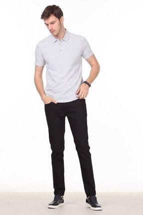Ramsey Erkek Gri Jakarlı Örme T - Shirt RP10119832 2