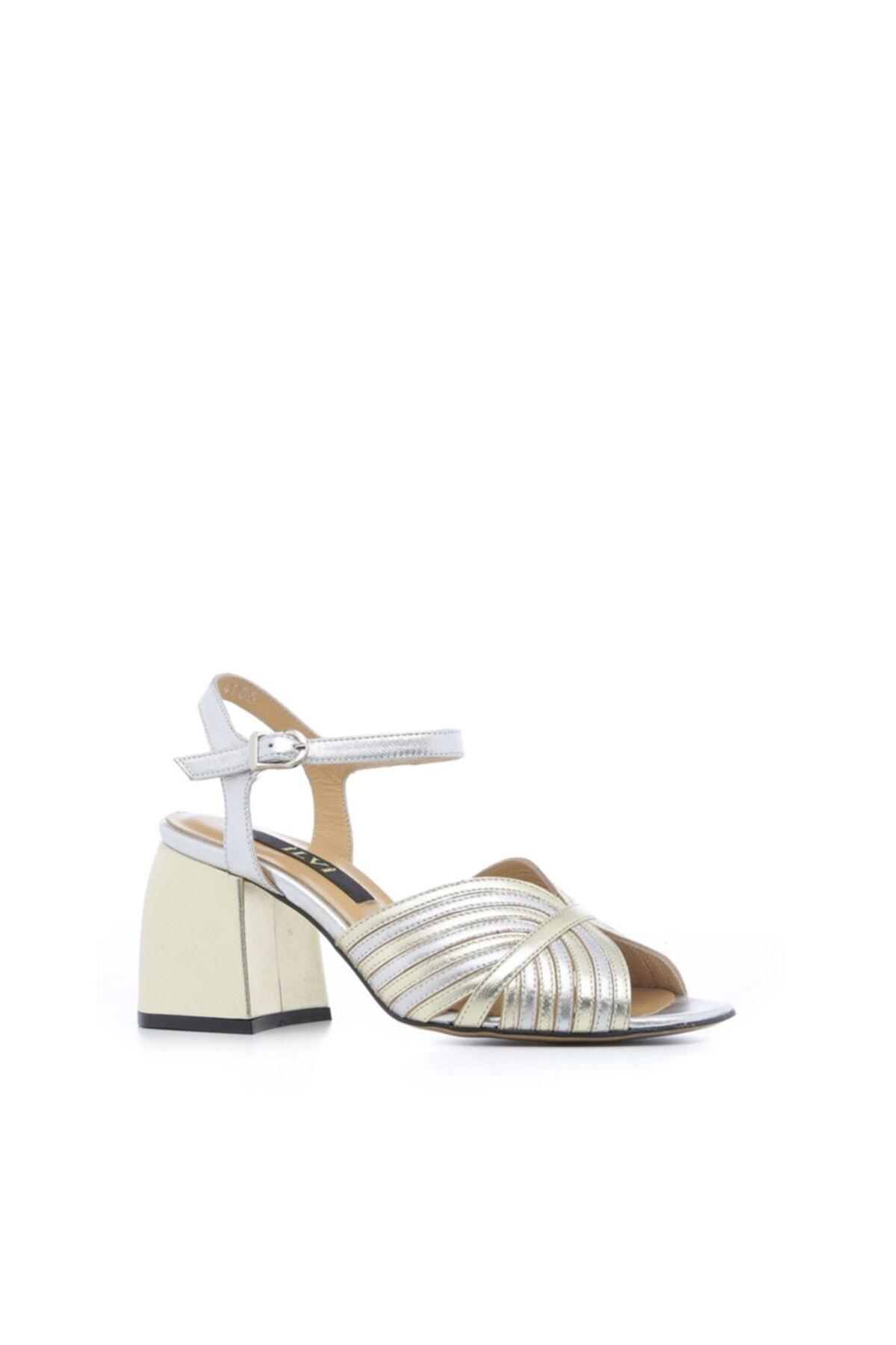 İLVİ Riva Kadın Sandalet Altın