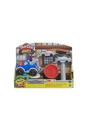 Hasbro Play Doh Çalışkan Çekici Kamyon E6690 1