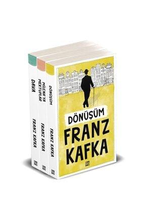 Dokuz Yayınları Franz Kafka 3'lü Set - Dönüşüm - Dava - Milena'ya Mektuplar 0