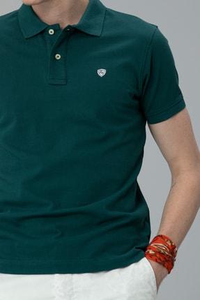Lufian Laon Spor Polo T- Shirt Koyu Yeşil 1
