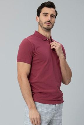 Lufian Laon Spor Polo T- Shirt Bordo 1