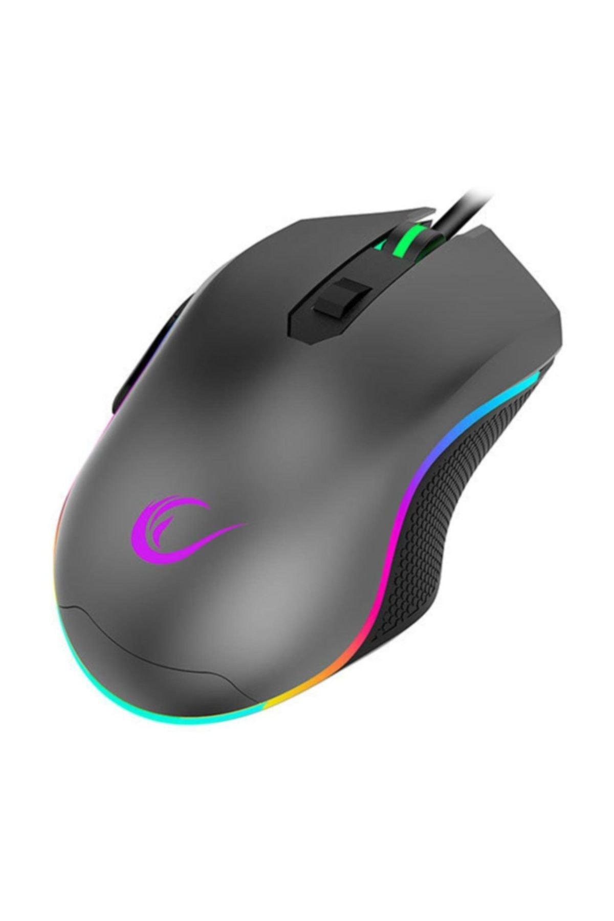 Rampage Smx-r70 Blaze Usb 6400dpi Rgb Macrolu Gaming Oyuncu Mouse